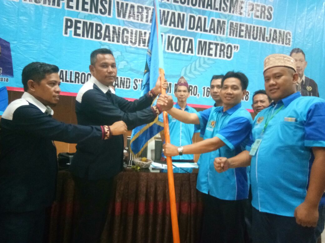 Pemilihan Ketua PWI Metro Dilakukan Secara Aklamasi