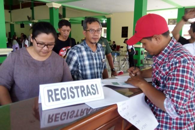 Ratusan Relawan Jokowi Mulai Berdatangan di Solo