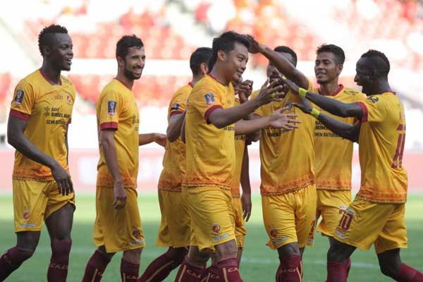 Sriwijaya FC Kampiun Turnamen Gubernur Kaltim 2018