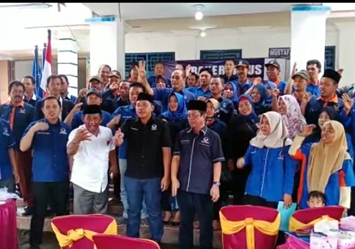 LAMPUNG POST | Plt Ketua DPW NasDem Lampung Cek Kesiapan Mesin Partai di Tubaba