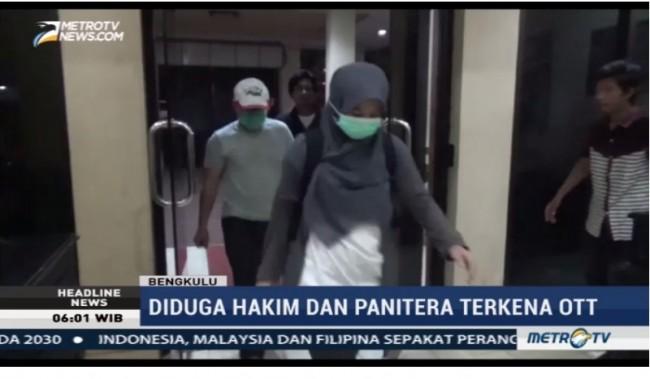 LAMPUNG POST | Hakim PN Bengkulu Diduga Terima Suap dari Terdakwa Kasus Korupsi