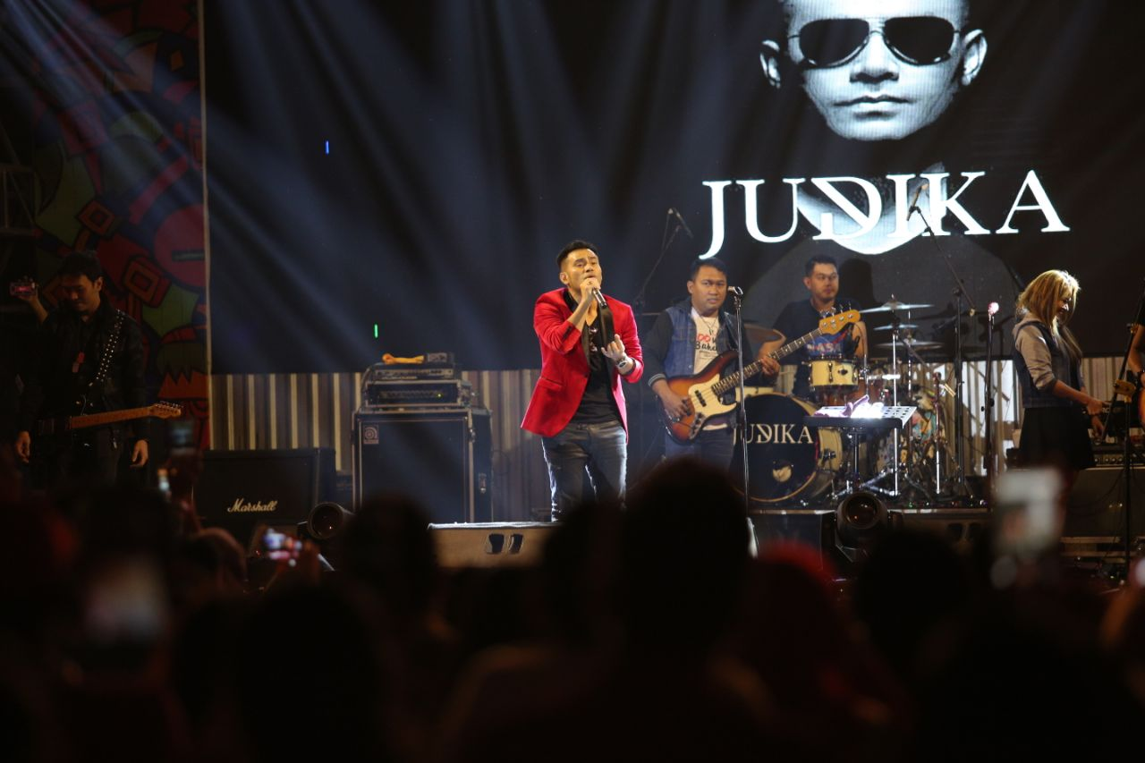 Judika Tampil Memukau di Event Soundsations