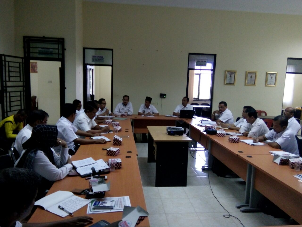 Siswa SMP/MTS Wilayah Pringsewu Ikuti Ujian UNBK/UNKP Pada 23-26 April Mendatang