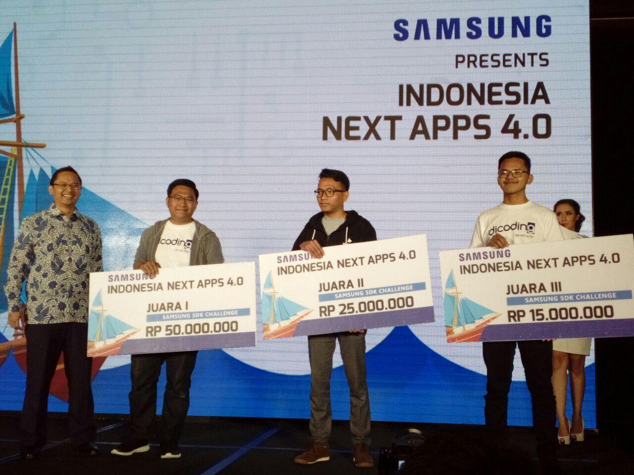 LAMPUNG POST | Samsung Umumkan Pemenang Indonesia Next Apps 4.0