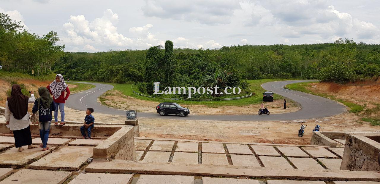 LAMPUNG POST | Kawasan Patung Empat Wajah Megow Pak akan Dipercantik