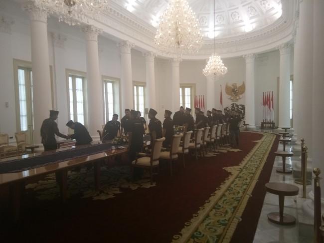 LAMPUNG POST | Jokowi Terima Gerakan Pemuda Islam Indonesia
