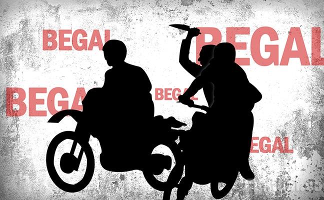 LAMPUNG POST | Dua Pelajar SMP Jadi Korban Pembegalan Sepeda Motor