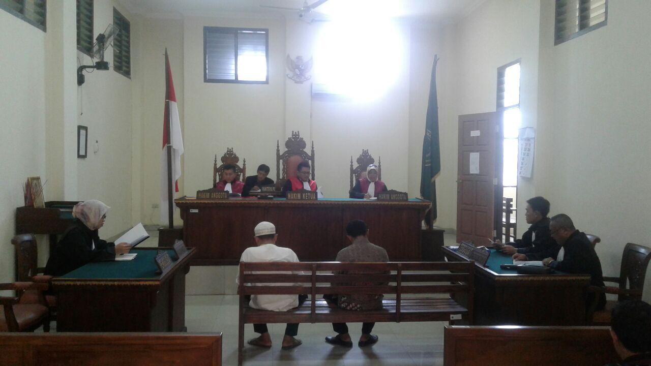 LAMPUNG POST | Tersandung Kasus ADD, Kades dan Sekdes Jadi Pesakitan