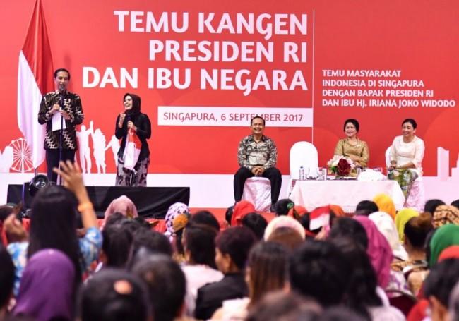 LAMPUNG POST | Jokowi Dihadapkan Jadwal Padat di Singapura