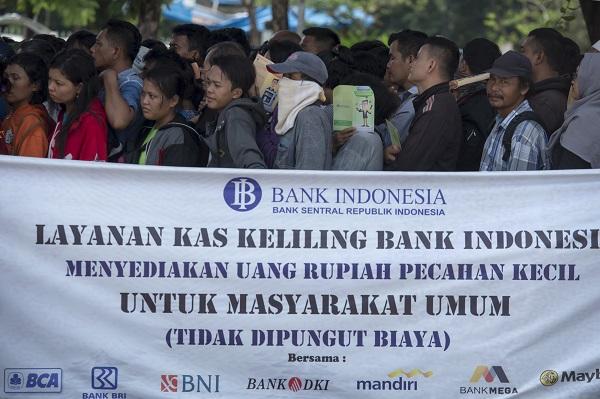 LAMPUNG POST | BI Lampung Imbau Tidak Tukar Uang Sembarangan