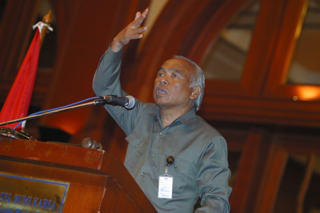 LAMPUNG POST | Indonesia Butuh Presiden dan Ketua MA yang Hebat untuk Berantas Korupsi