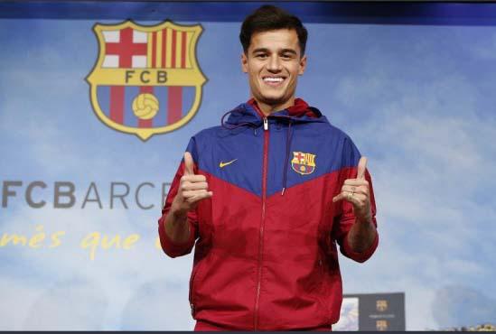 Coutinho Dipamerkan sebagai Pemain Barcelona