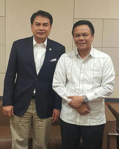 LAMPUNG POST | Azis Syamsuddin-Pattimura Jalin Komunikasi Akrab