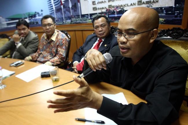 LAMPUNG POST | Ketua MK Dituding Cari Jalan Pintas di DPR
