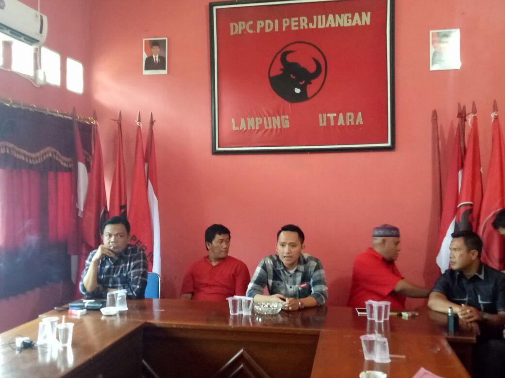 LAMPUNG POST | PDIP Siap Rebut Kursi Bupati Lampung Utara