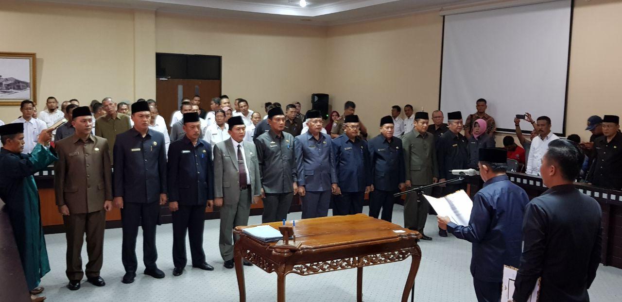 LAMPUNG POST | LAMPOST TV: Wakil Bupati Tubaba Lantik 10 Pejabat Eselon II