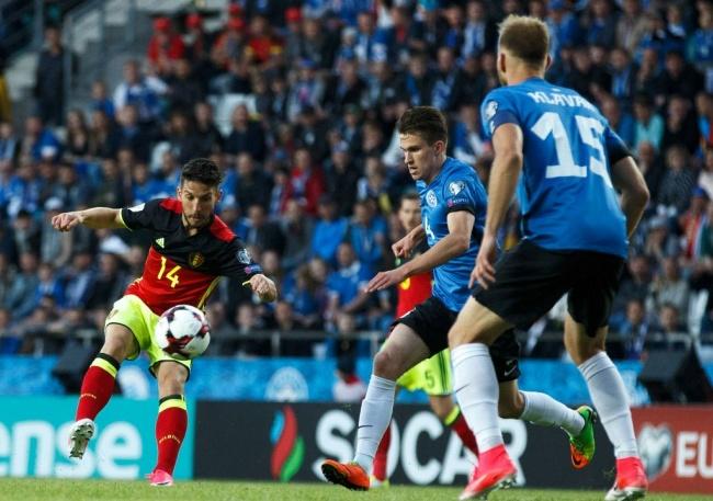 LAMPUNG POST | Kualifikasi Piala Dunia, Belgia Kokoh di Puncak Grup H