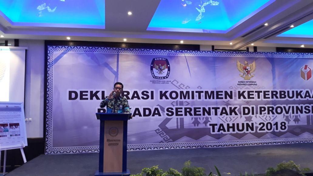 LAMPUNG POST | Komisi Informasi Ajak Penyelenggara Pemilu Berkomitmen dalam Keterbukaan Informasi