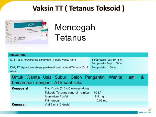 LAMPUNG POST | Vaksin TT untuk Kebaikan Janin
