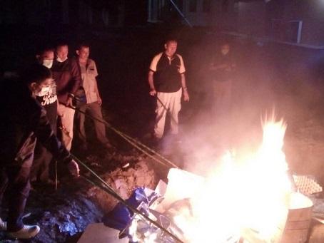 LAMPUNG POST | Satgas Musnahkan 2,5 Ton Daging Celeng di Bakauheni