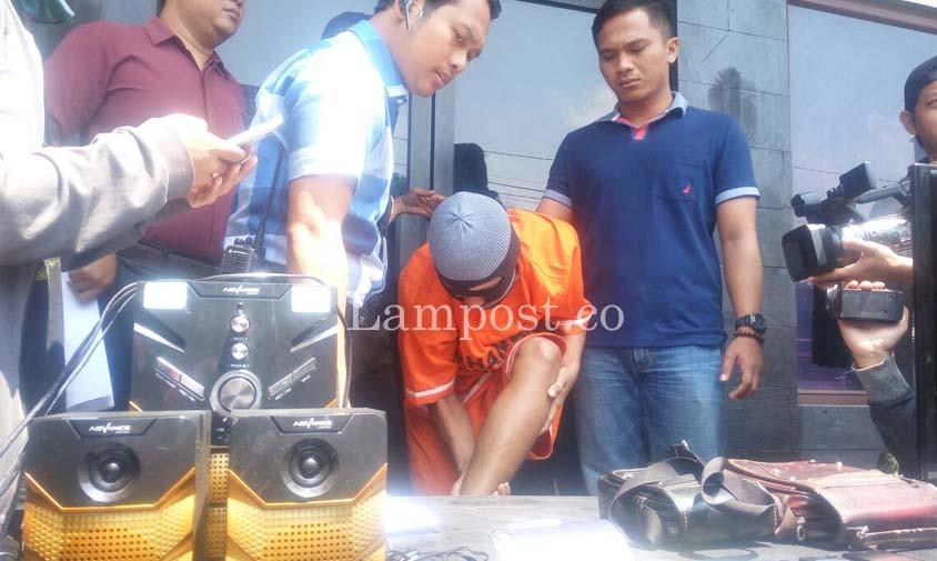 LAMPUNG POST | Dor! Pembobol Rumah Wakil PN Tanjungkarang Dibekuk di Jawa Tengah
