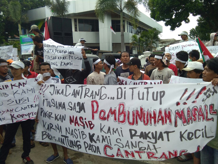 Demo Cantrang dan Dogol, Ini Tuntutan Nelayan