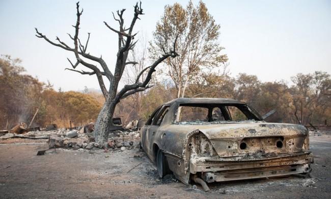 LAMPUNG POST | Korban Tewas Kebakaran Hutan California Bertambah Jadi 23 Orang