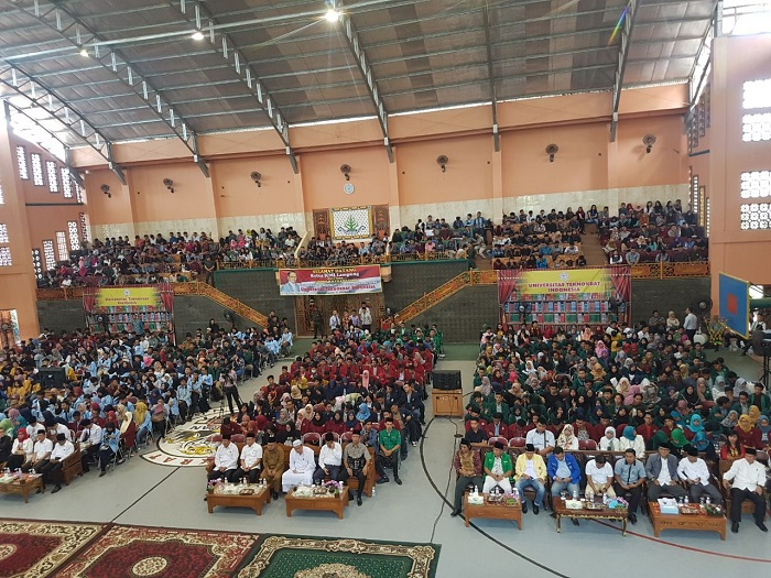 Ribuan Mahasiswa Lampung Ikuti Seminar Kebangsaan ICMI