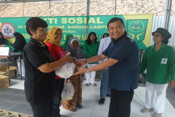 LAMPUNG POST | IDI dan IIDI Bandar Lampung Gelar Baksos dan Pengobatan Gratis