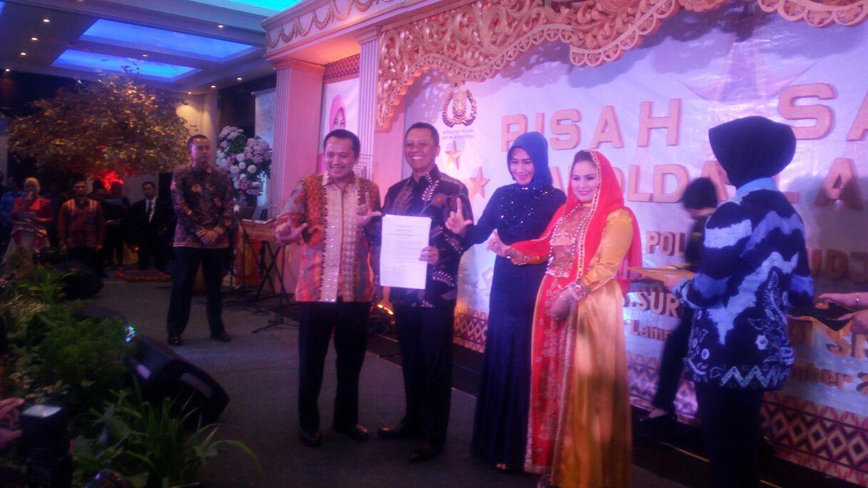 LAMPUNG POST   Lampung Indonesia Mini Jadi Tantangan Kapolda Jaga Kamtibmas