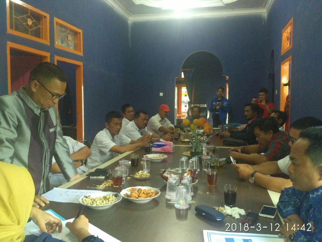 Partai Pengusung Ridho Berbakti di Tubaba Bahas Pemenangan