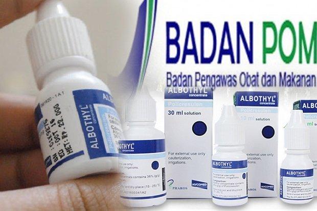 LAMPUNG POST | Badan POM Beri Waktu Sebulan Tarik Produk Albothyl dari Apotek