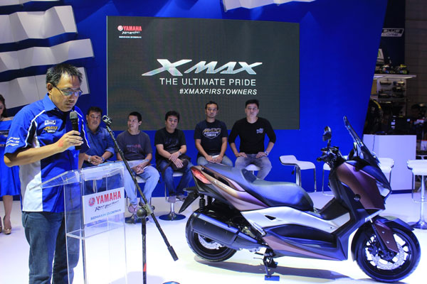 LAMPUNG POST   Dua Hari Order Online, 1.500 Yamaha XMAX Ludes