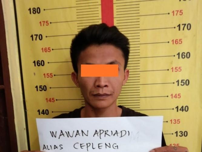 9 Bulan Buron, DPO Narkoba Dibekuk Satresnarkoba Polres Tanggamus