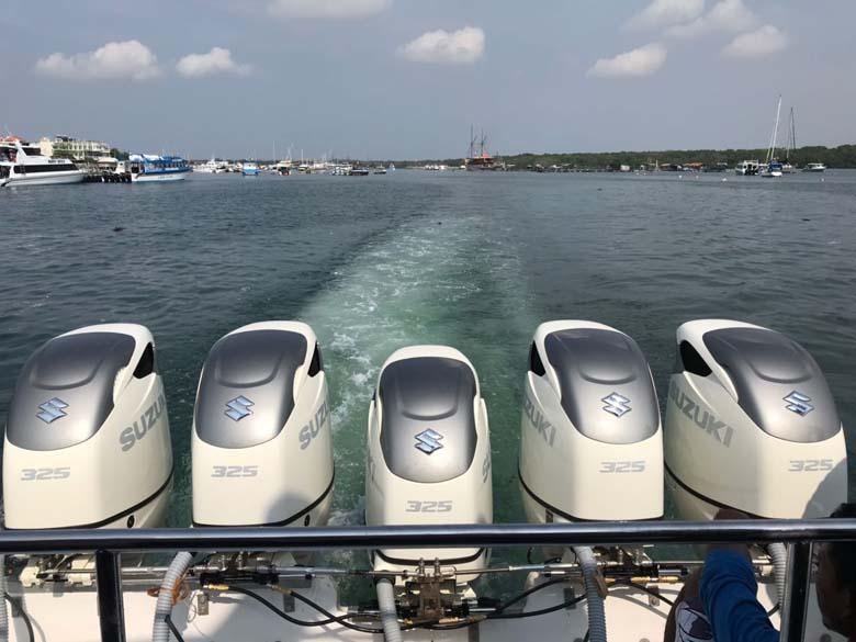 LAMPUNG POST | Suzuki Luncurkan Mesin Outboard Motor Terbaru