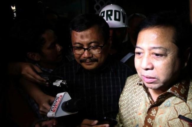 LAMPUNG POST | KPK Perpanjang Pencekalan Setya Novanto ke Luar Negeri