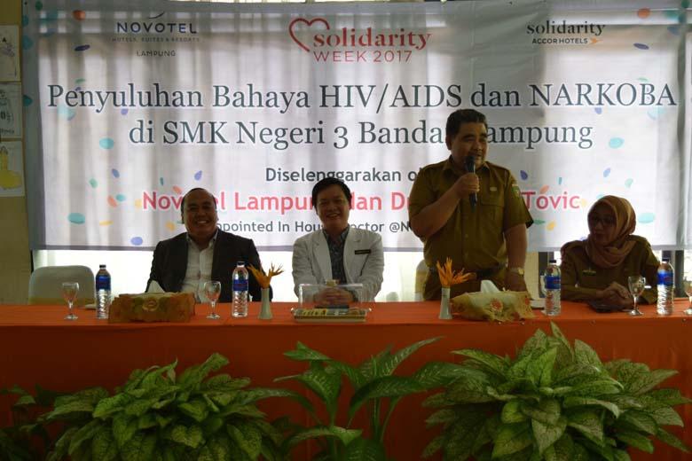 LAMPUNG POST | Novotel Lampung Gelar Accor Solidarity Week