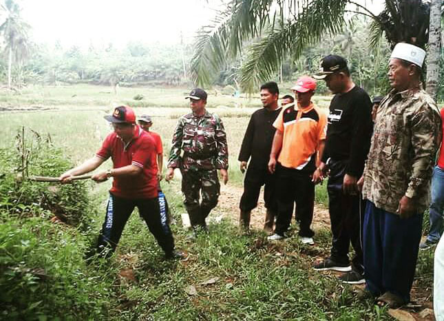 DPMP dan Kodim Tinjau Lokasi TMMD 2018