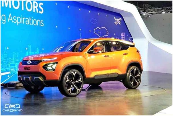 H5X, Mobil SUV Tata Motors dengan Platform Land Rover