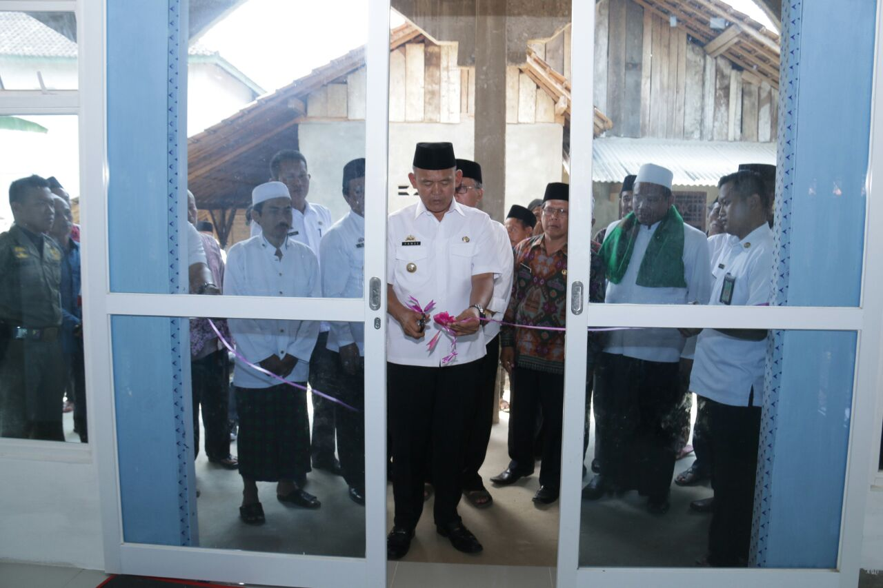 Wakil Bupati Pringsewu Hadiri Pengajian Isra Mikraj