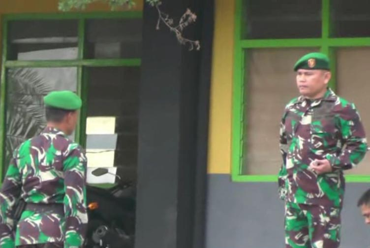 Kodim 0412/Lampung Utara Siap Amankan Pilkada