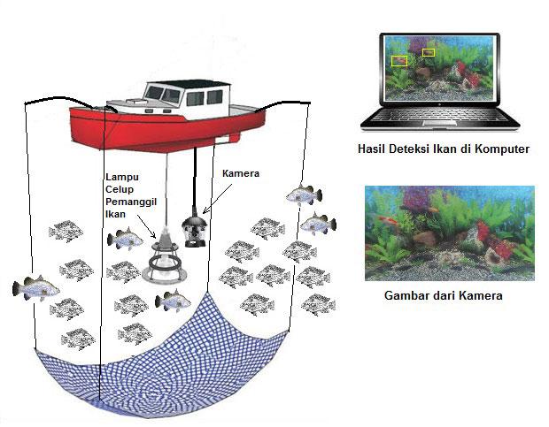 LAMPUNG POST | Dosen Unila Ciptakan Kamera Pendeteksi Ikan
