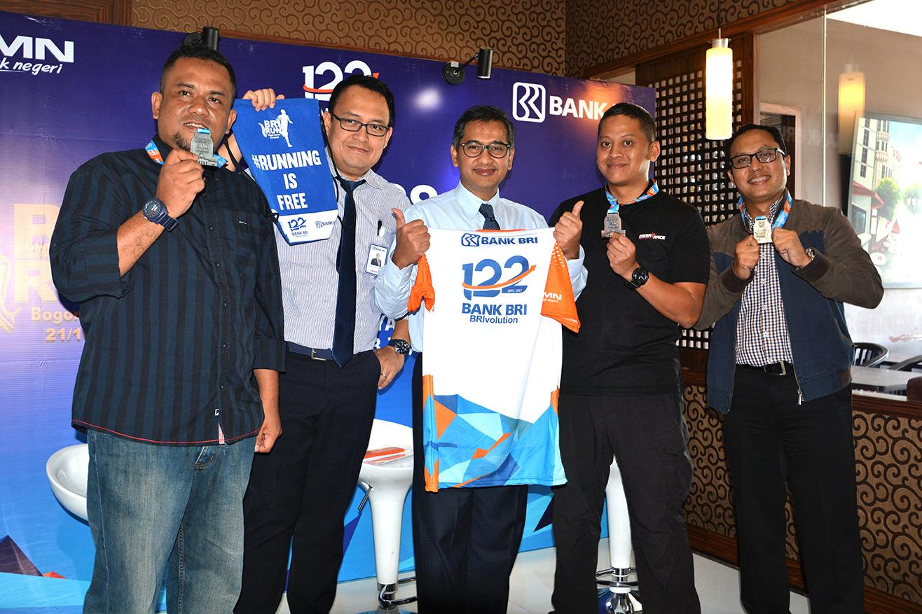 Rayakan Hari Jadi Ke-122, Bank BRI Gelar BRI Run 2017: Bogor Series