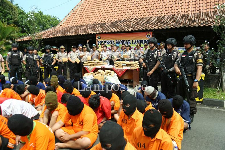 LAMPUNG POST | Polresta Petakan Wilayah Rawan Kejahatan di Bandar Lampung