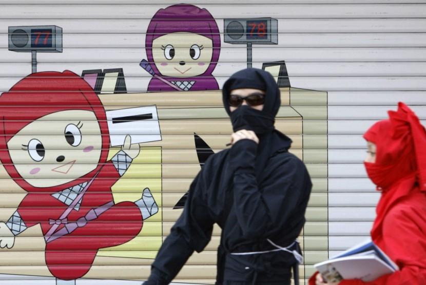 Ninja Terciduk