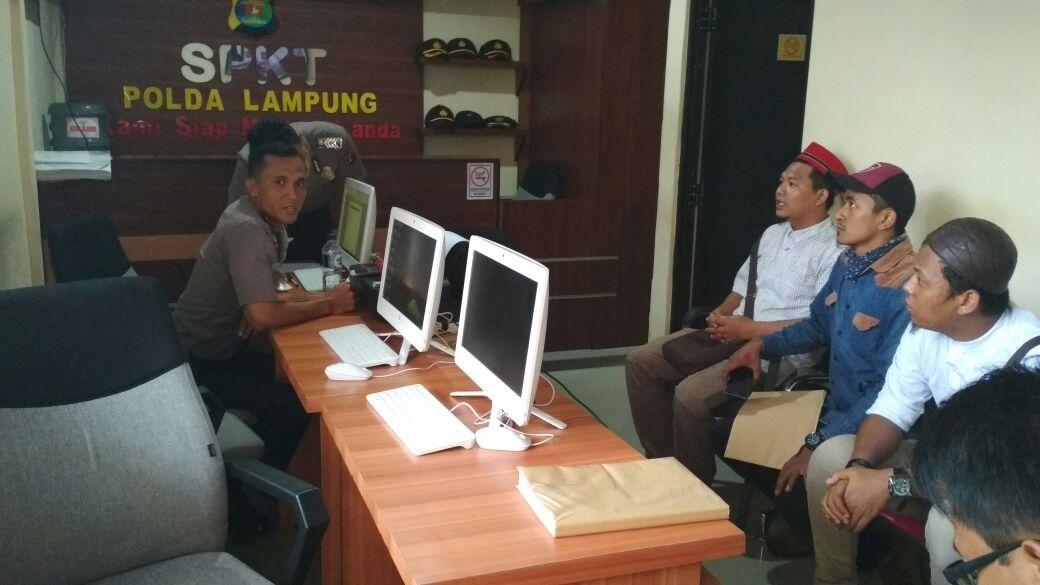LAMPUNG POST | Kapolda Minta Pelapor Lengkapi Alat Bukti soal Rakata Institute