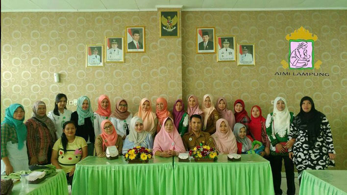 AIMI Lampung Kampanye Pentingnya ASI Ekslusif