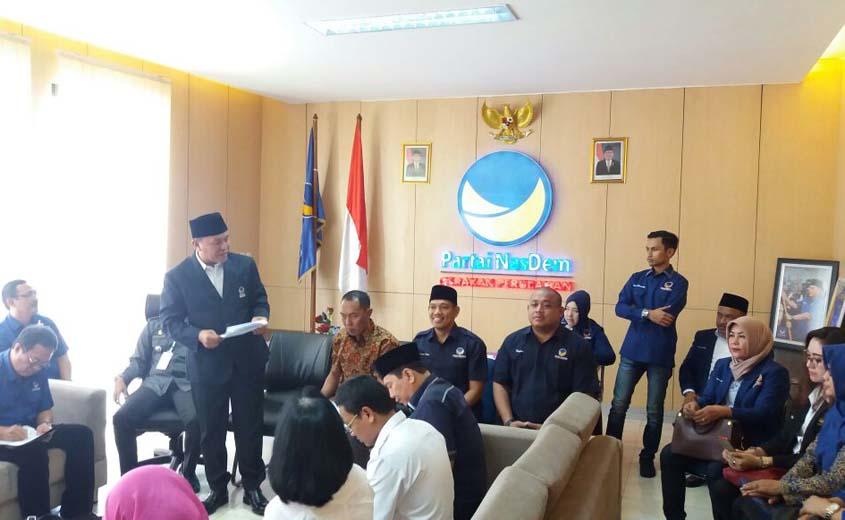 Lolos Verifikasi, NasDem Lampung Siap Tempur di Pilkada dan Pemilu