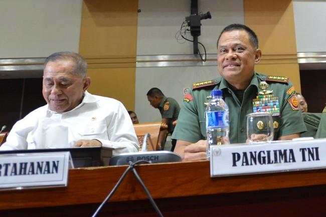LAMPUNG POST | Panglima TNI Ditolak Masuk AS Dianggap Permalukan Indonesia
