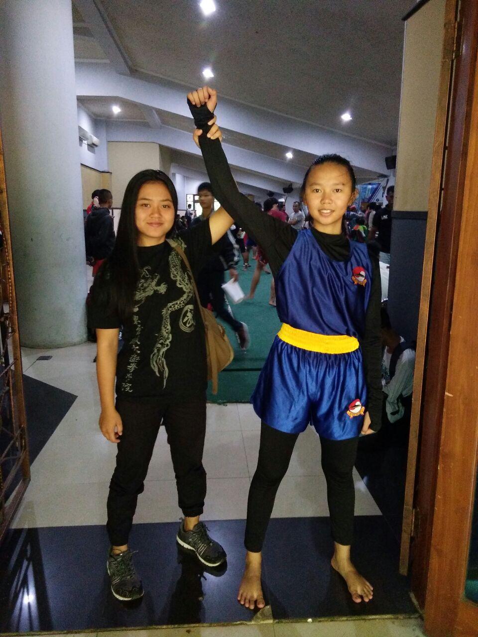 Dua Atlet Wushu Lampung Berlaga di Final Kejurnas
